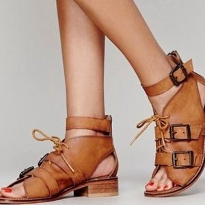 Free people sun chaser shoe boot sandal